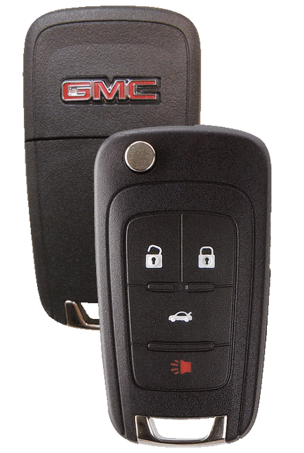 Strattec 5912547 2010-2011 GMC Terrain 4 Button Remote/Flip Key