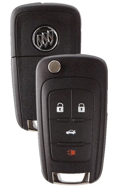 Strattec 5912558 Buick Logo 4 Button Remote Flip Key