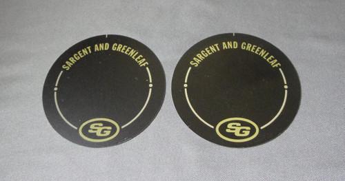 Sargent & Greenleaf Dial Insert Non Key Locking