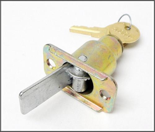 Sterling Sliding Door Lock Brass Finish