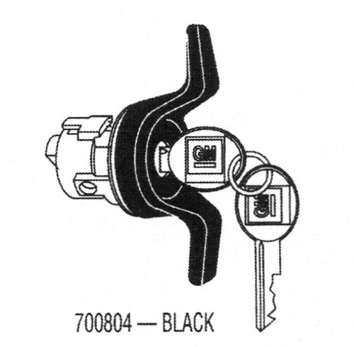Strattec 700804 Chevy Tailgate Lock With Keys