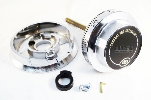 Sargent & Greenleaf D220 & R167 Dial & Dial Ring Set