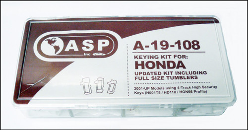 ASP A-19-108 Keying Kit for Honda