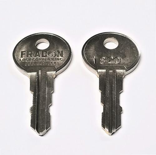 Stack On/Sentinel/RangeMaxx Keys For Gun Safes