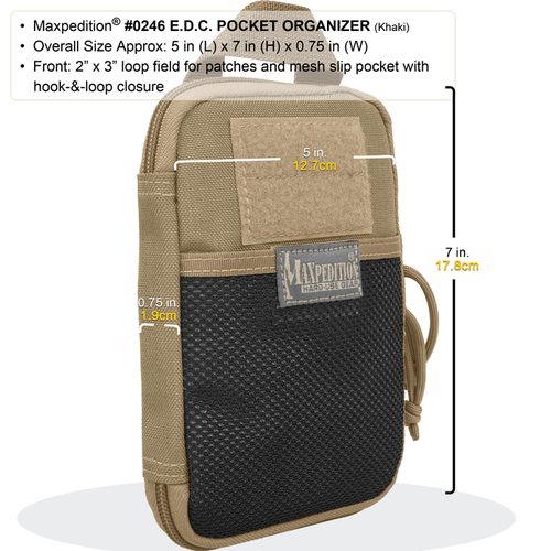 Maxpedition 0246 Pocket Organizer