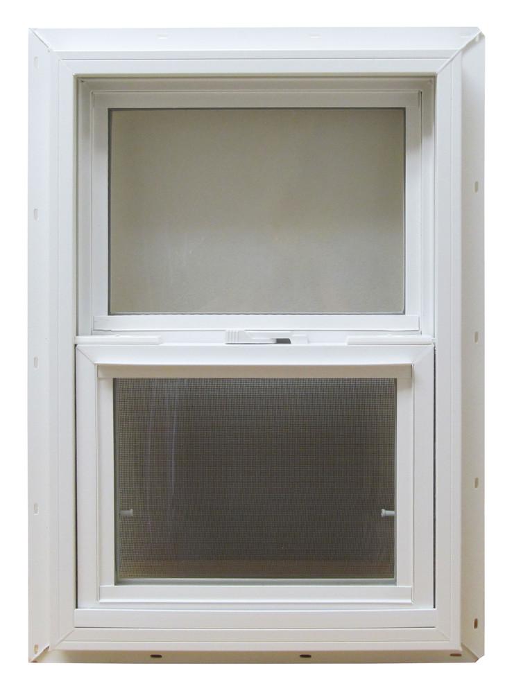 "18"" x 36"" Double Pane Insulated Windows PVC Frame"
