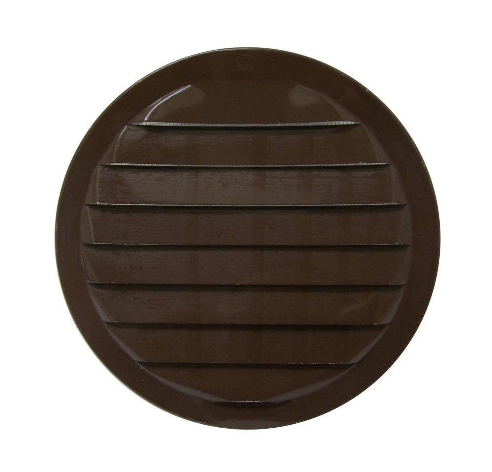 """6"""" Round Aluminum Vent - Brown"""