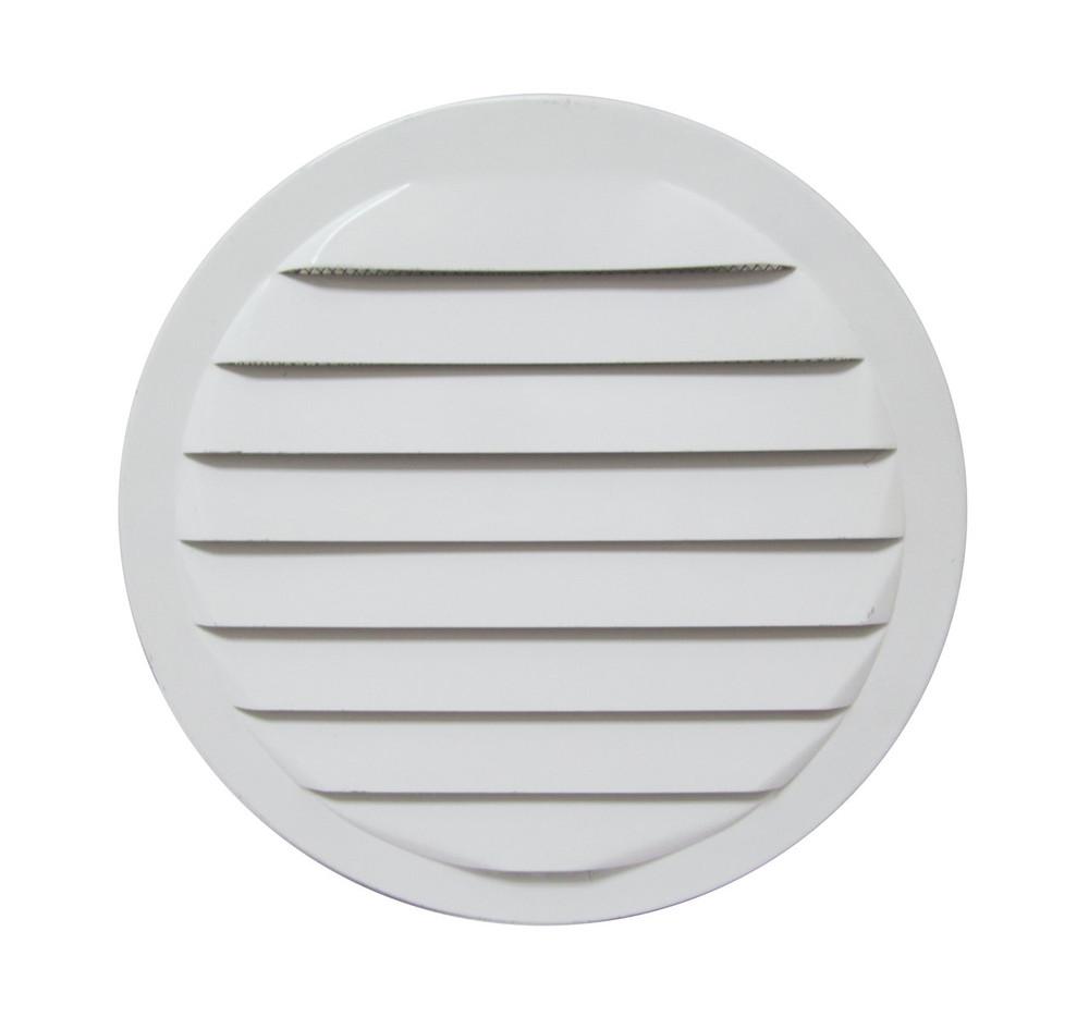 """6"""" Round Aluminum Vent - White"""