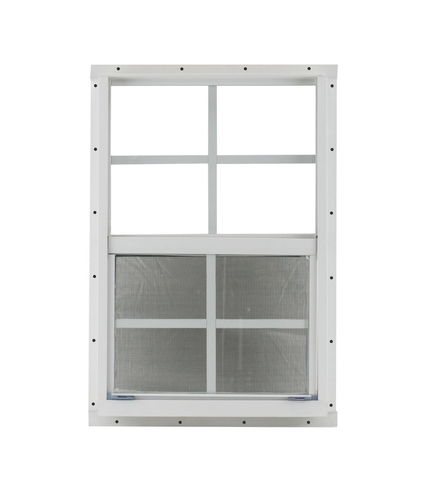 "14"" x 21"" White Flush Window Play House, Tree House and Shed Window"