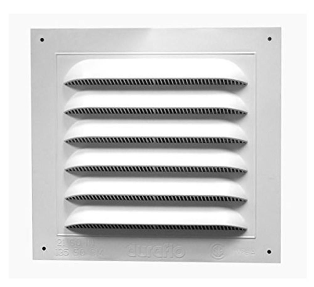 8x8 white flush pvc vent