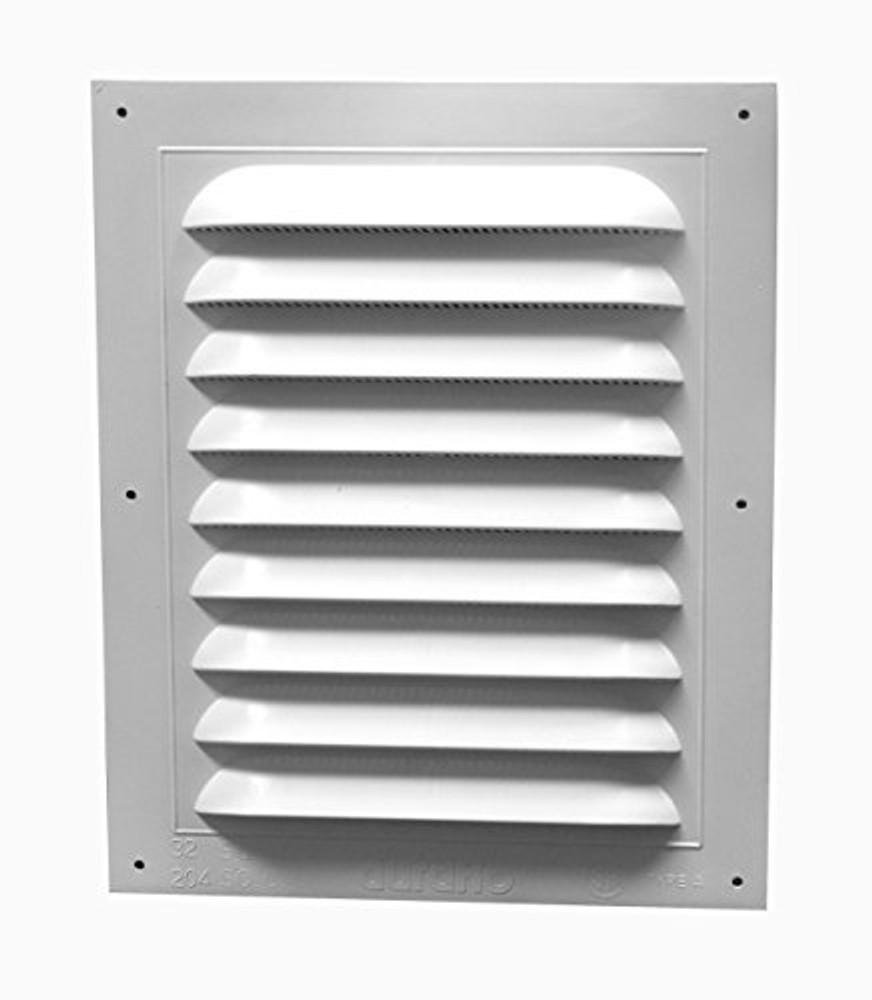 8x12 white pvc vent