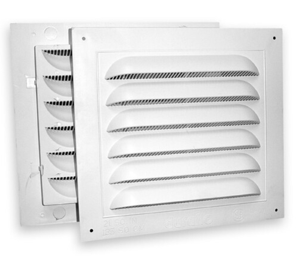 8x8 combined gable vent