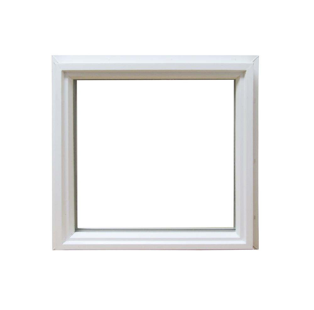 """12"""" x 12"""" Square Double Pane Vinyl Windows"""