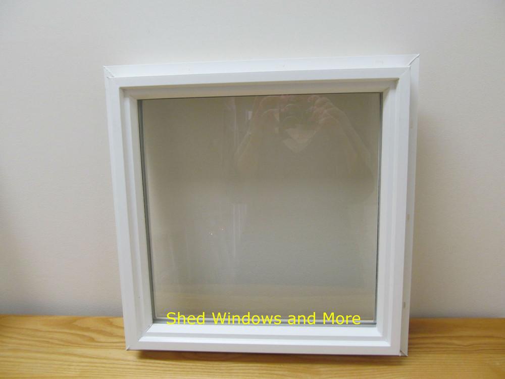 """18"""" x 18"""" Square Double Pane Vinyl Window"""