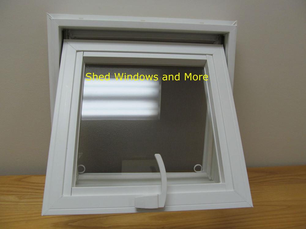 "16"" x 16"" Awning Insulated Glass Vinyl Window"