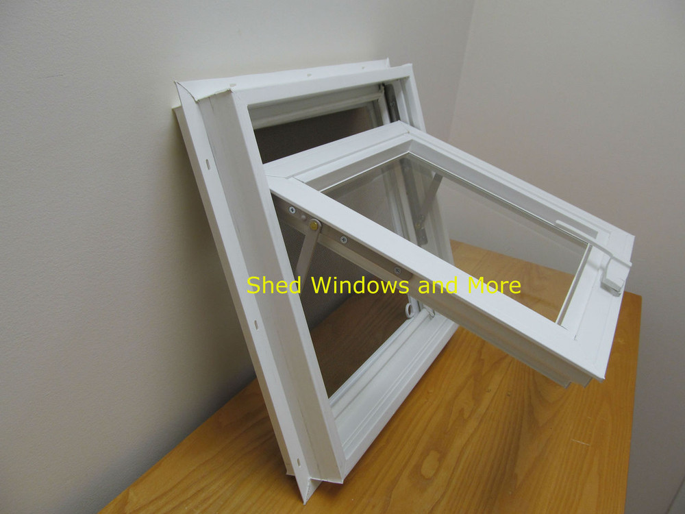 "16"" x 16"" Awning Insulated Glass Vinyl Window"