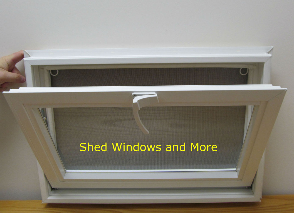 "24"" x 16"" Awning Insulated Glass Vinyl Window"