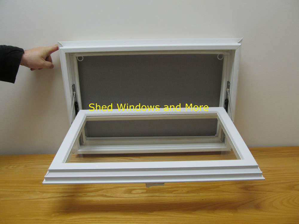 "24"" x 16"" Awning Insulated Glass Vinyl Window"