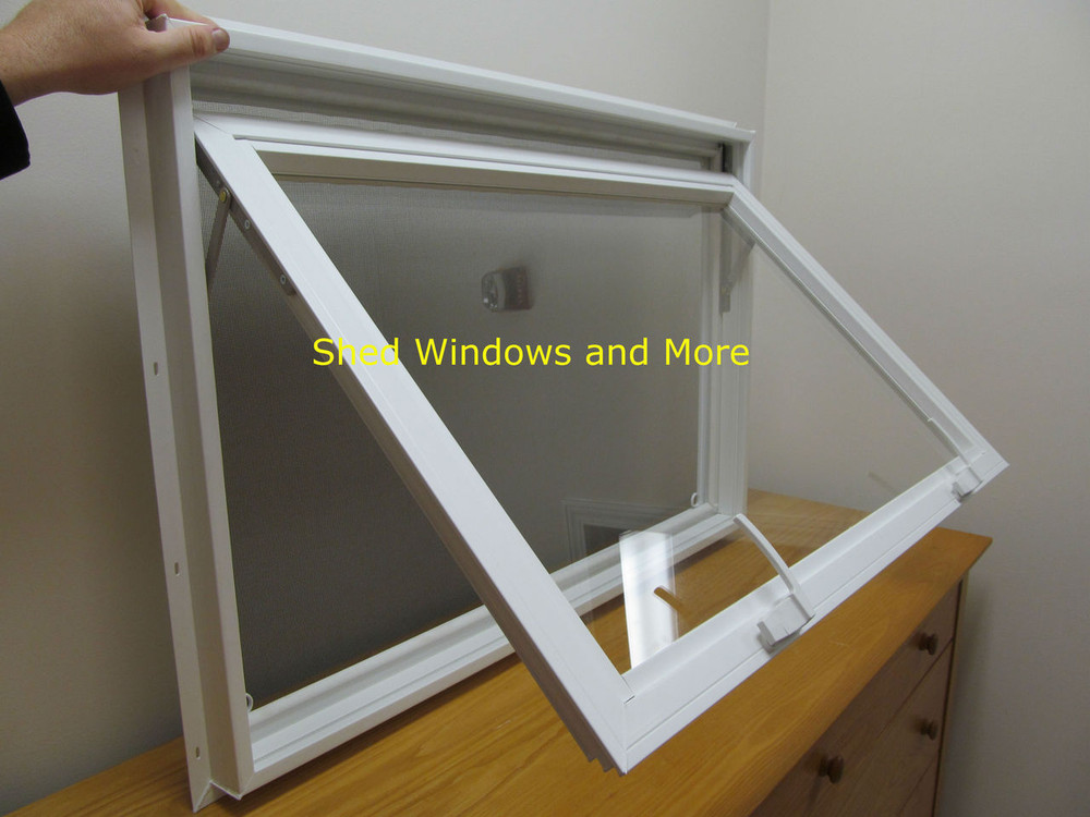 36 Quot X 24 Quot Insulated Glass Pane Vinyl Window Shed Windows