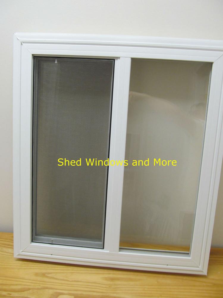 """24"""" x 27"""" Double Pane Horizontal Sliding Vinyl Window"""