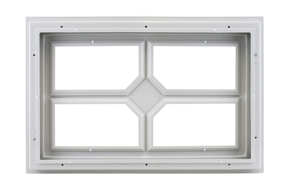 Garage Door Window 4 Lite w/Diamond Center (1002)