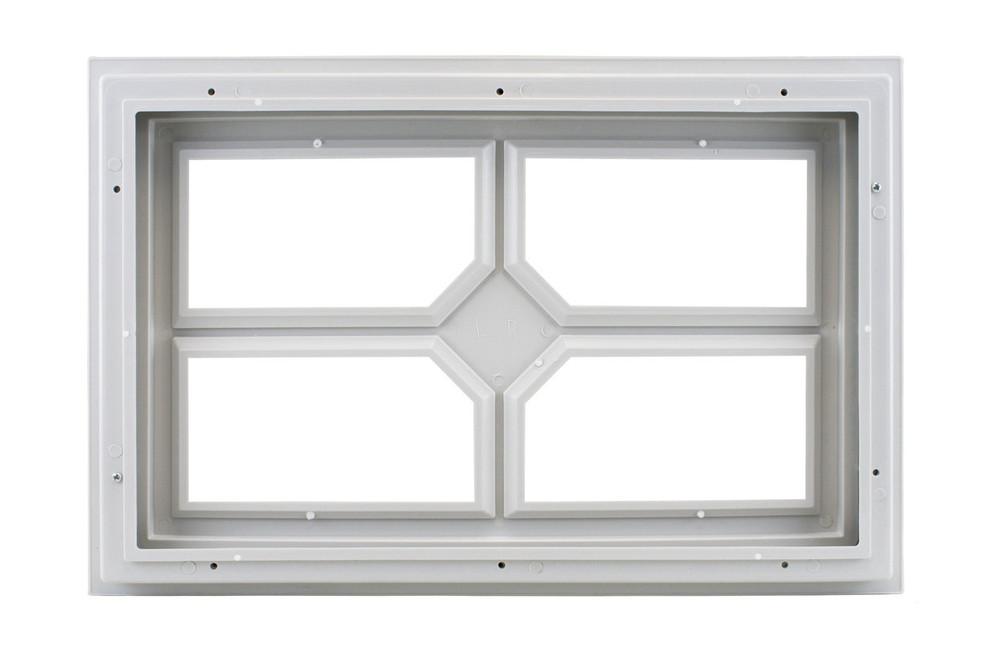 Garage Door Window 4 Lite w/Diamond Center (1002)