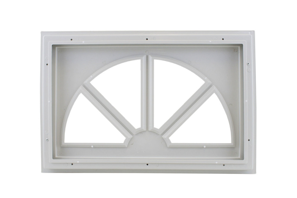 Garage Door Window Sunburst Design (1007)