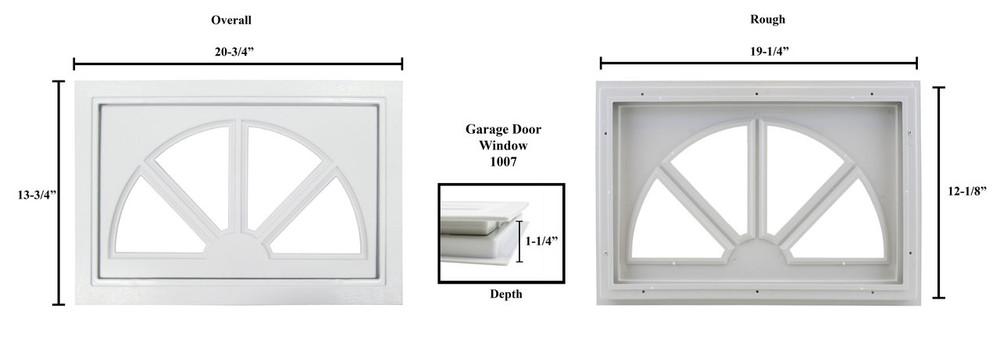 Sunburst Garage Door Window Shed Windows And More Inc