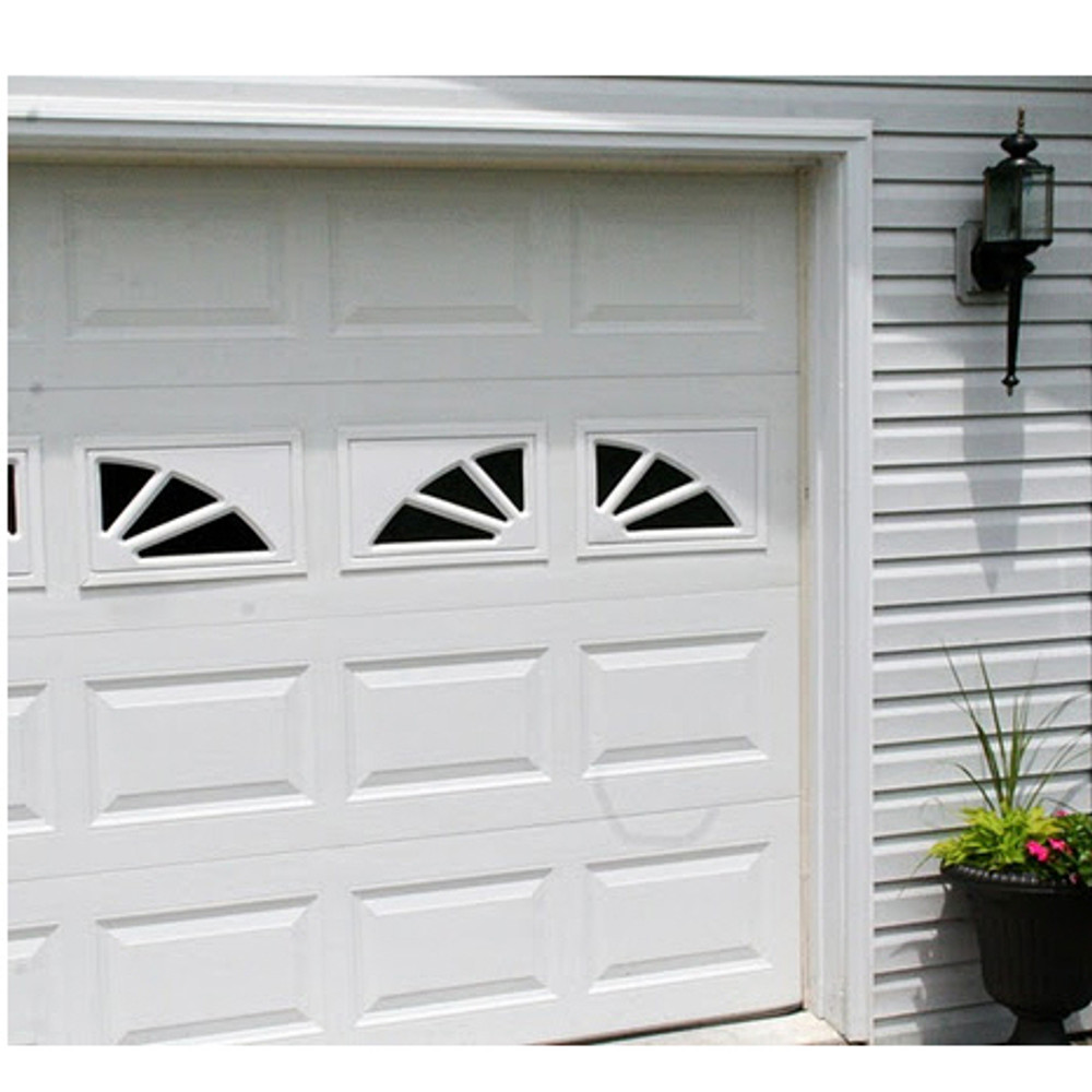 2 Panel Sunburst Garage Door Window Shed Windows And