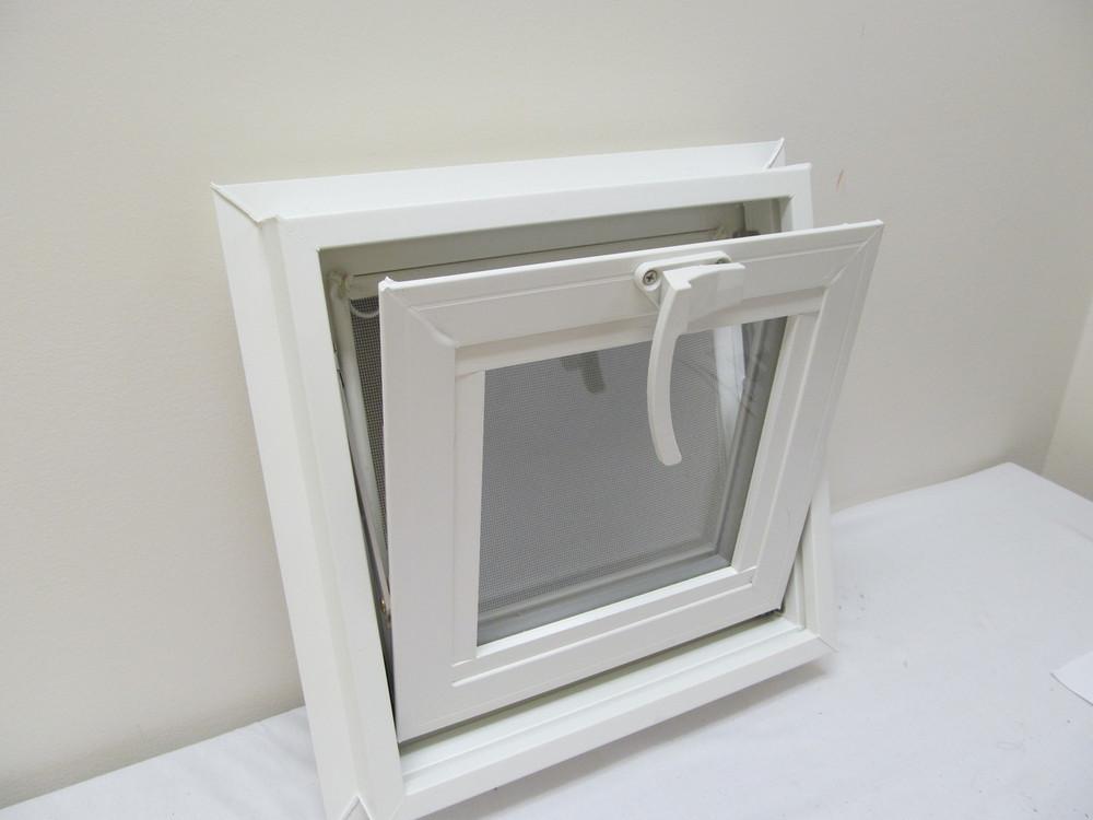 "14"" x 14"" Awning Transom Insulated Glass Vinyl Window"