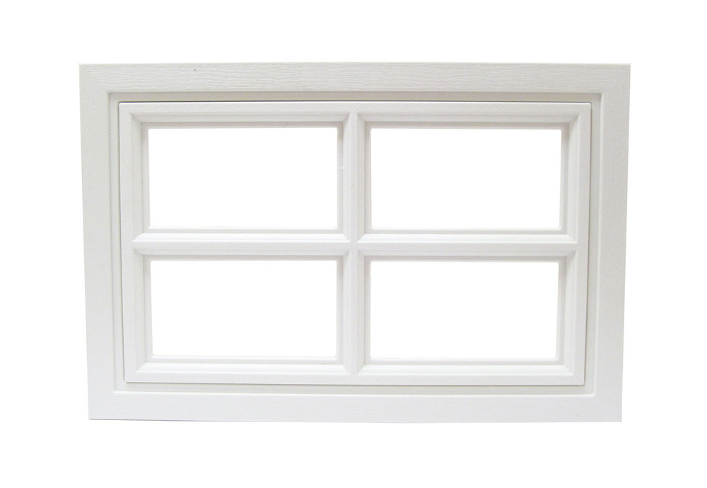 Garage Door Window 4 Lite Cross Design (1003)