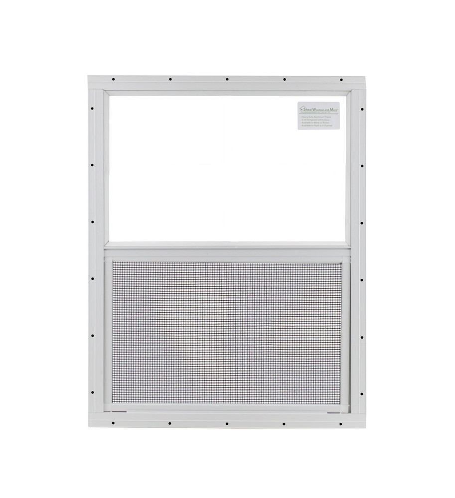 "24"" x 27"" Safety Glass Window Without Girds"