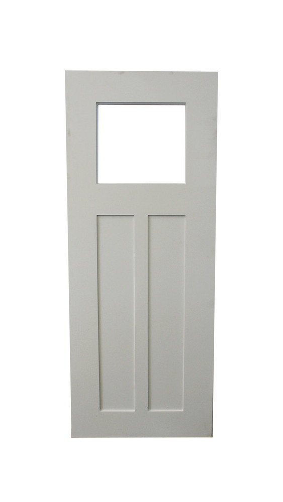 "24"" x 48"" Playhouse Door - Craftsman Style with Window"