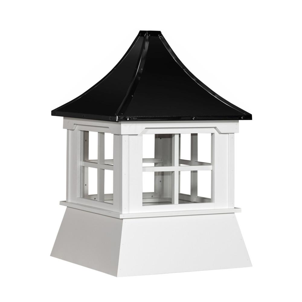 "30"" Vinyl Window Cupola with Pagoda Roof"
