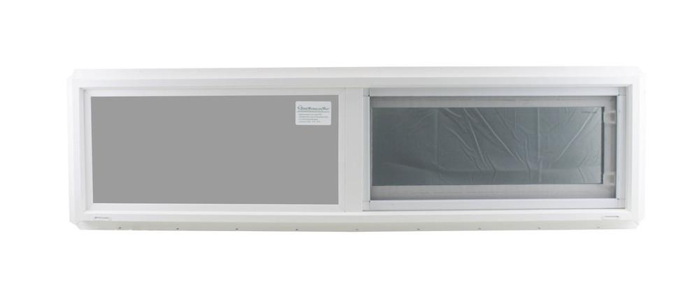"Double Pane TEMPERED Glass Horizontal 48"" x 12"""