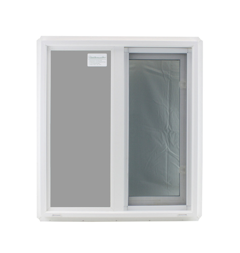 "Double Pane TEMPERED Glass Horizontal 24"" x 27"""