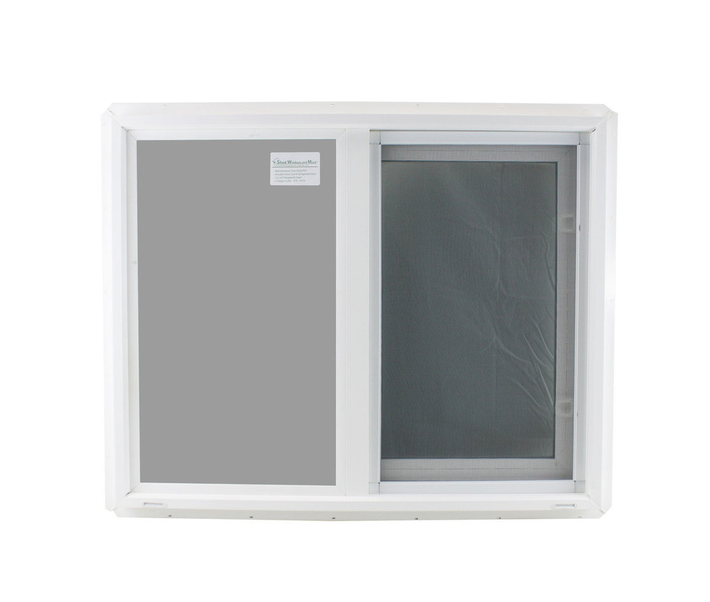 "Double Pane TEMPERED Glass Horizontal 30"" x 24"""