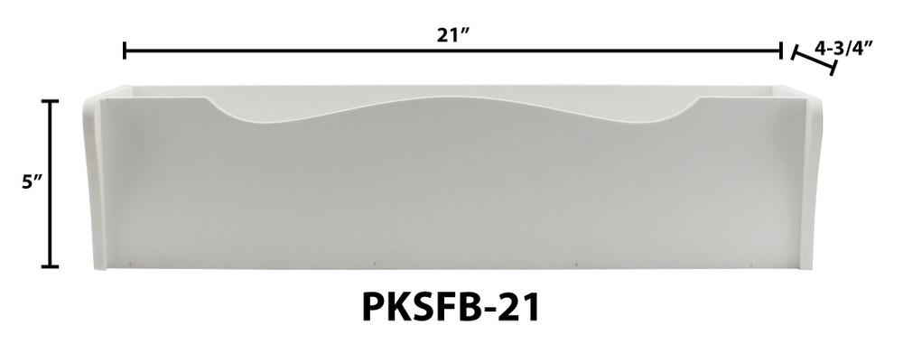 "21"" Shaker Style PVC Flower Box"