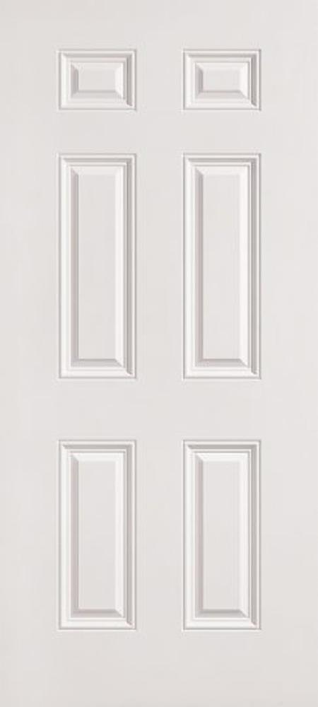 "36"" x 72"" 6 Panel Fiberglass Shed Doors"