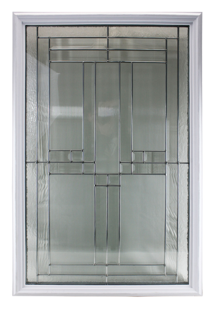 Door Glass Decorative Cut Glass Triple Pane