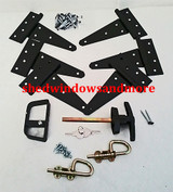 Hardware Kit #1 with Standard Heavy Duty T Hinges