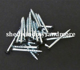 "#8x2-1/2"" Screws with Black Head"