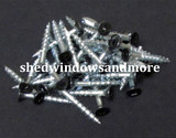 "#8x1-1/4"" Screw with Black Head"
