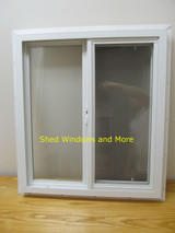 "24"" x 27"" Double Pane Horizontal Sliding Vinyl Window"