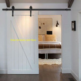 6FT Decorative Sliding Barn Door