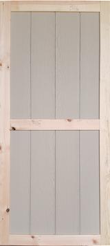 """30"""" x 72"""" Wood Shed Door"""