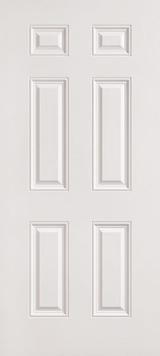 "30"" x 72"" 6 Panel Fiberglass Shed Doors"