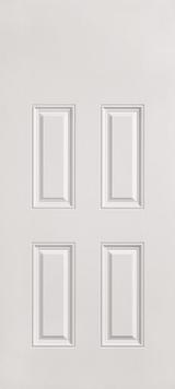 "30"" x 78"" 4 Panel Fiberglass Shed Doors"