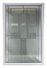 Door Glass Decorative Cut Glass Triple Pane