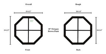 "18"" Octagon Window"